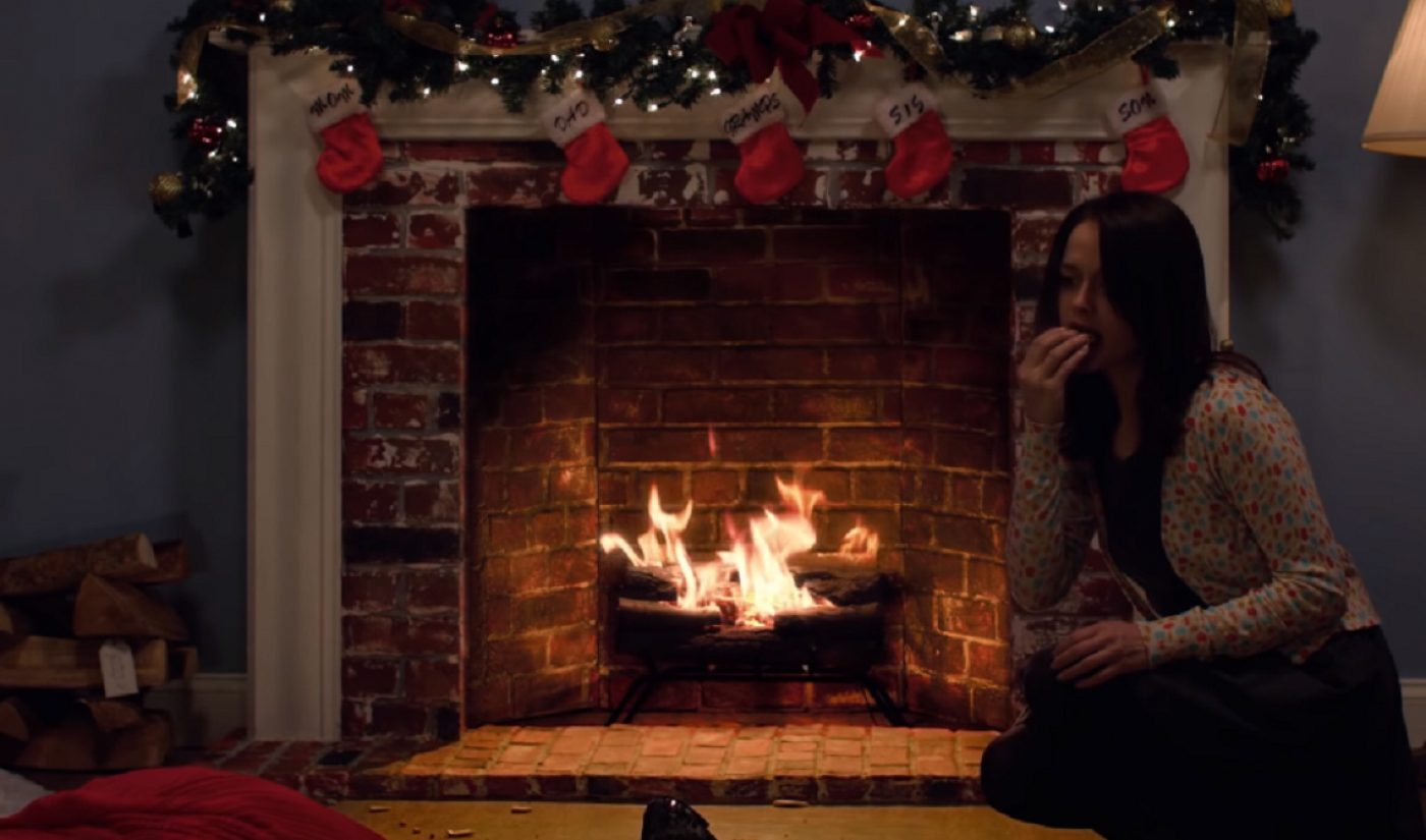 There's Something Sinister Afoot In Macaulay Culkin's Yule Log Video