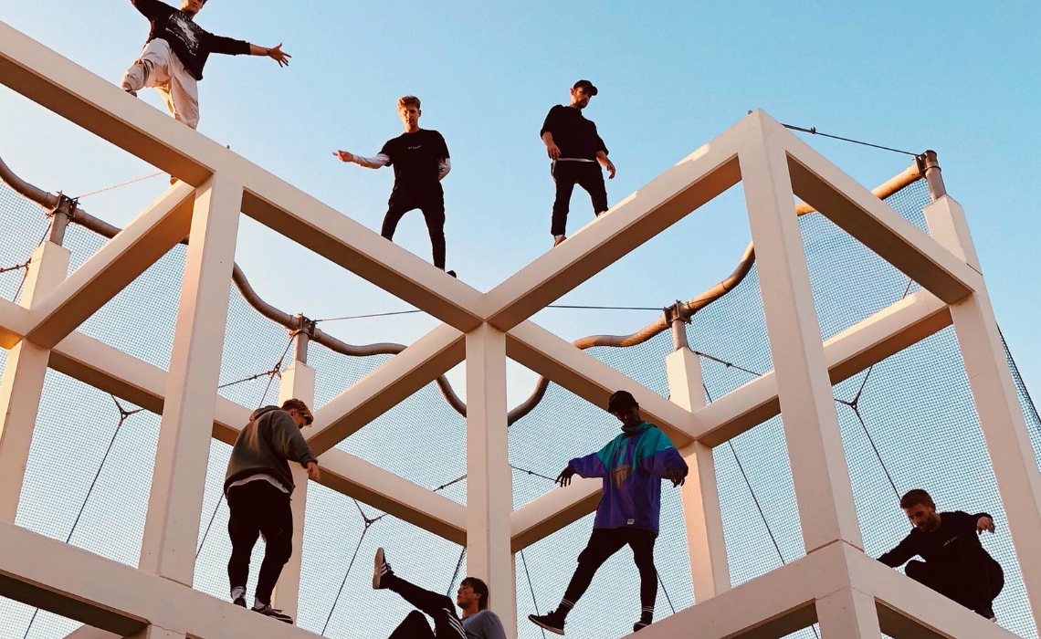 Creators Going Pro: Parkour Team STORROR Has Built Up A YouTube Business To Dizzying Heights, Aims Higher With New Venture