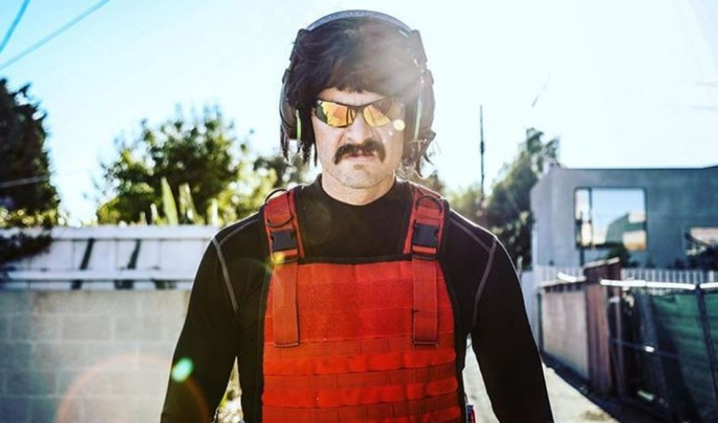 CAA Signs Twitch Streamer Dr DisRespect As It Builds Out Gaming Roster
