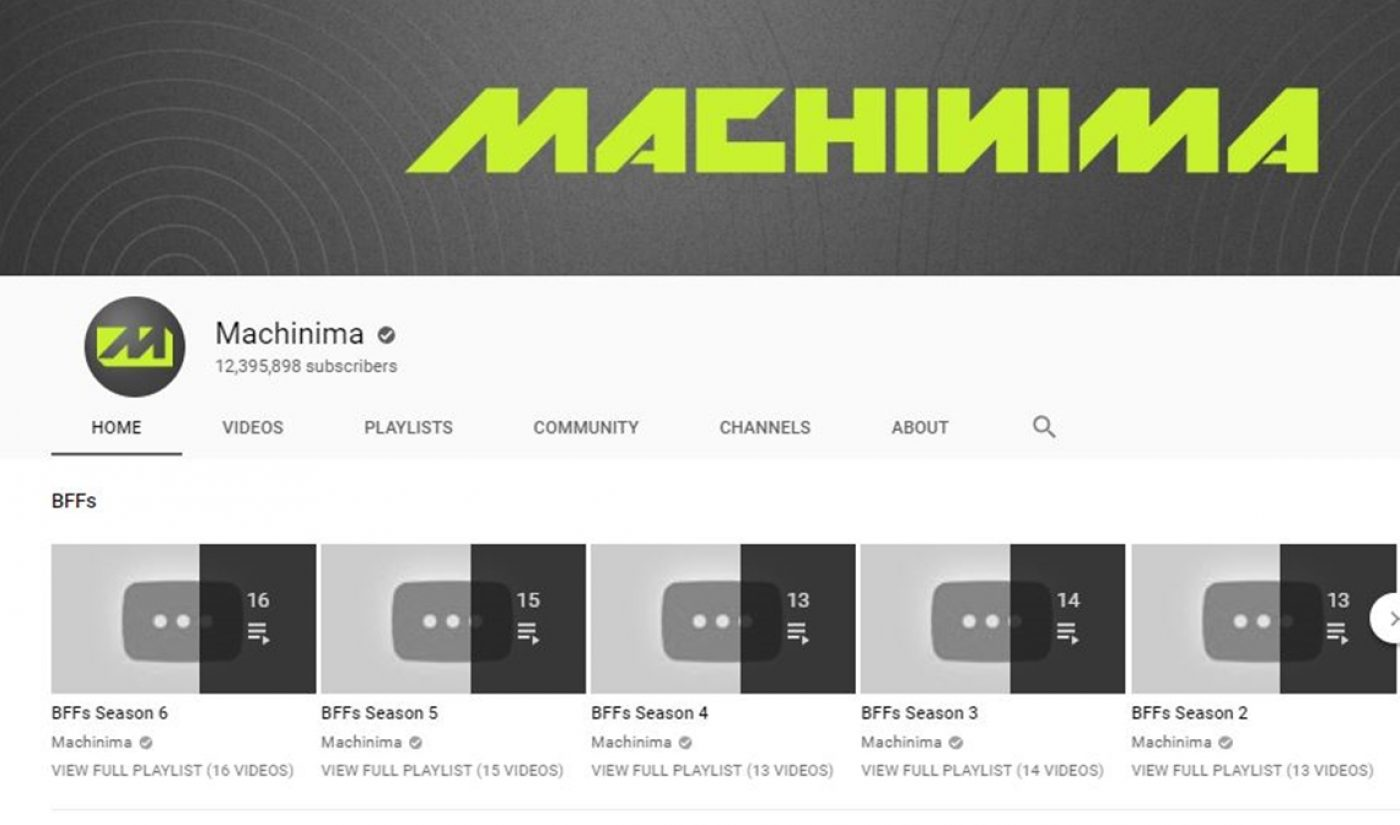 After Porting Its Creator Network To Fullscreen, Machinima Wipes Seminal YouTube Channel