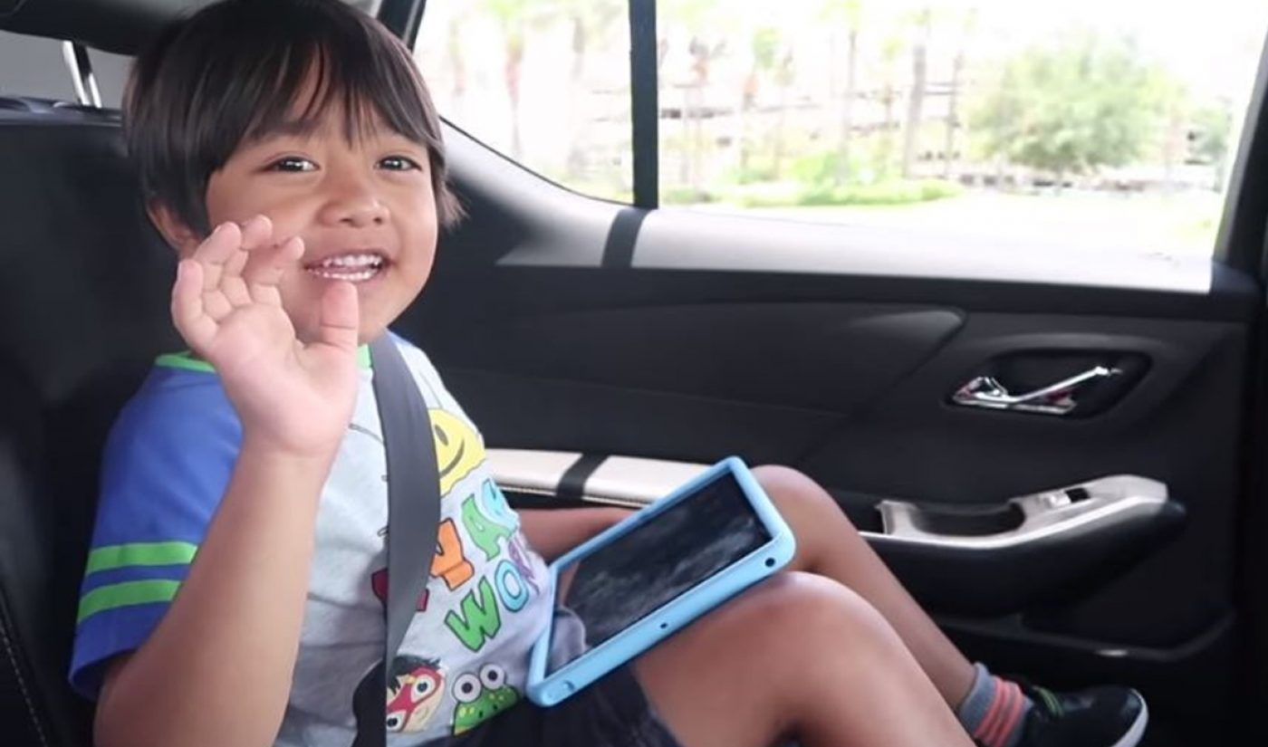 Ryan ToysReview Vastly Expands Licensing Empire With 40 Global Deals
