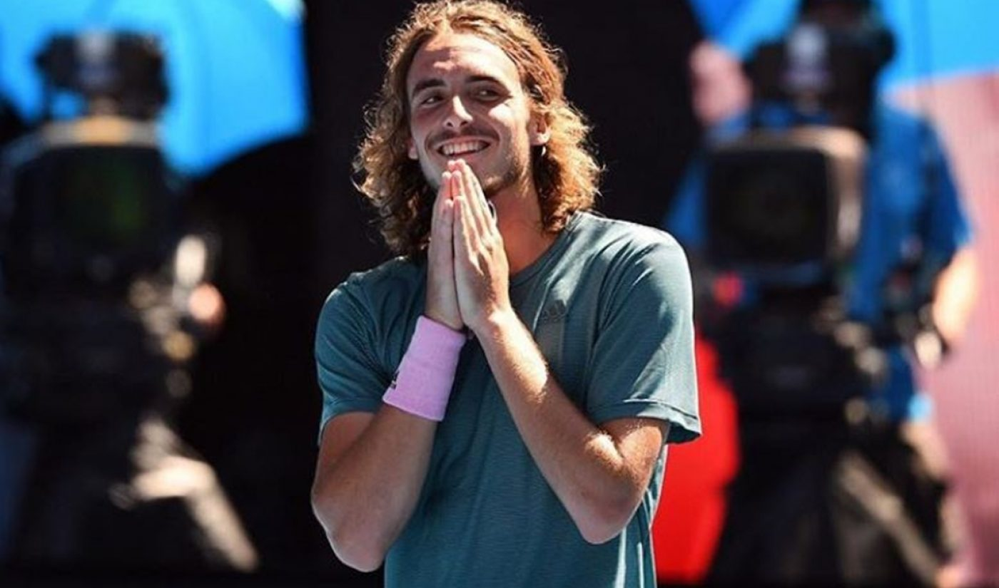 After Stunning Australian Open Win, Stefanos Tsitsipas Urges Stadium to Subscribe To His YouTube Channel
