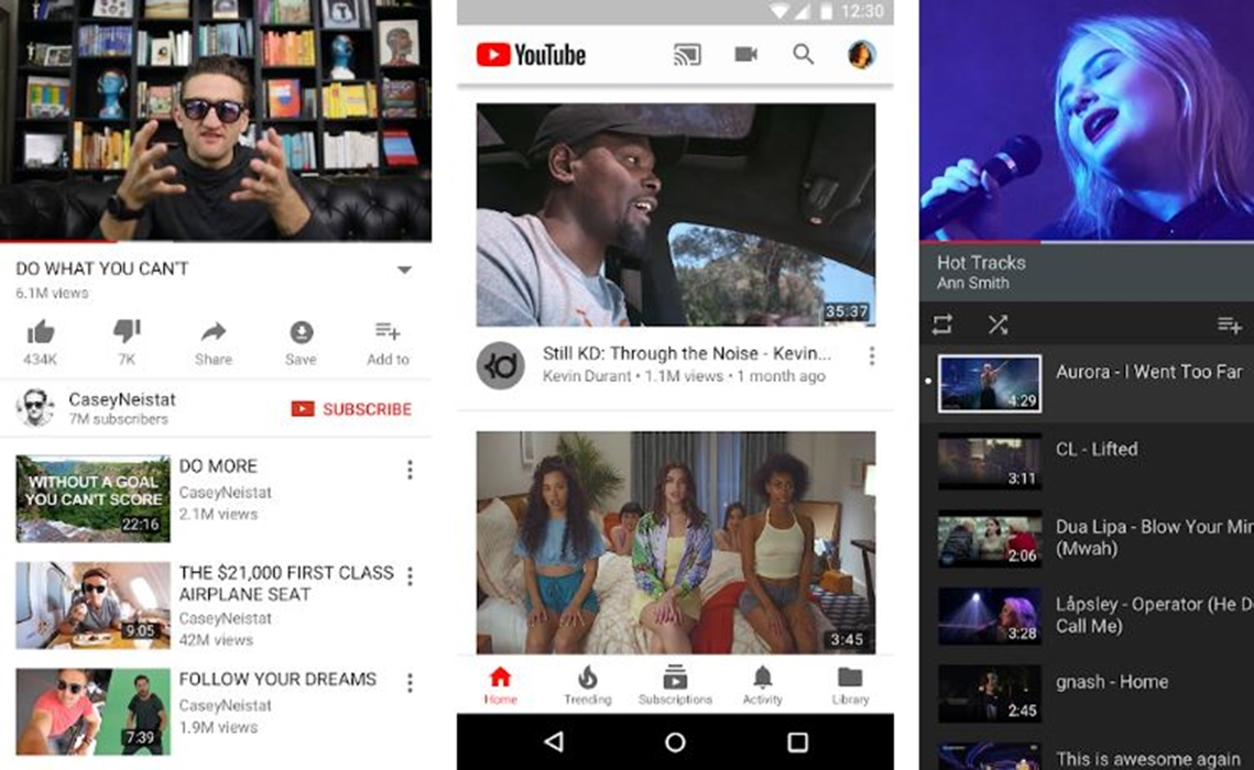 youtube updates voice search on android with new interface