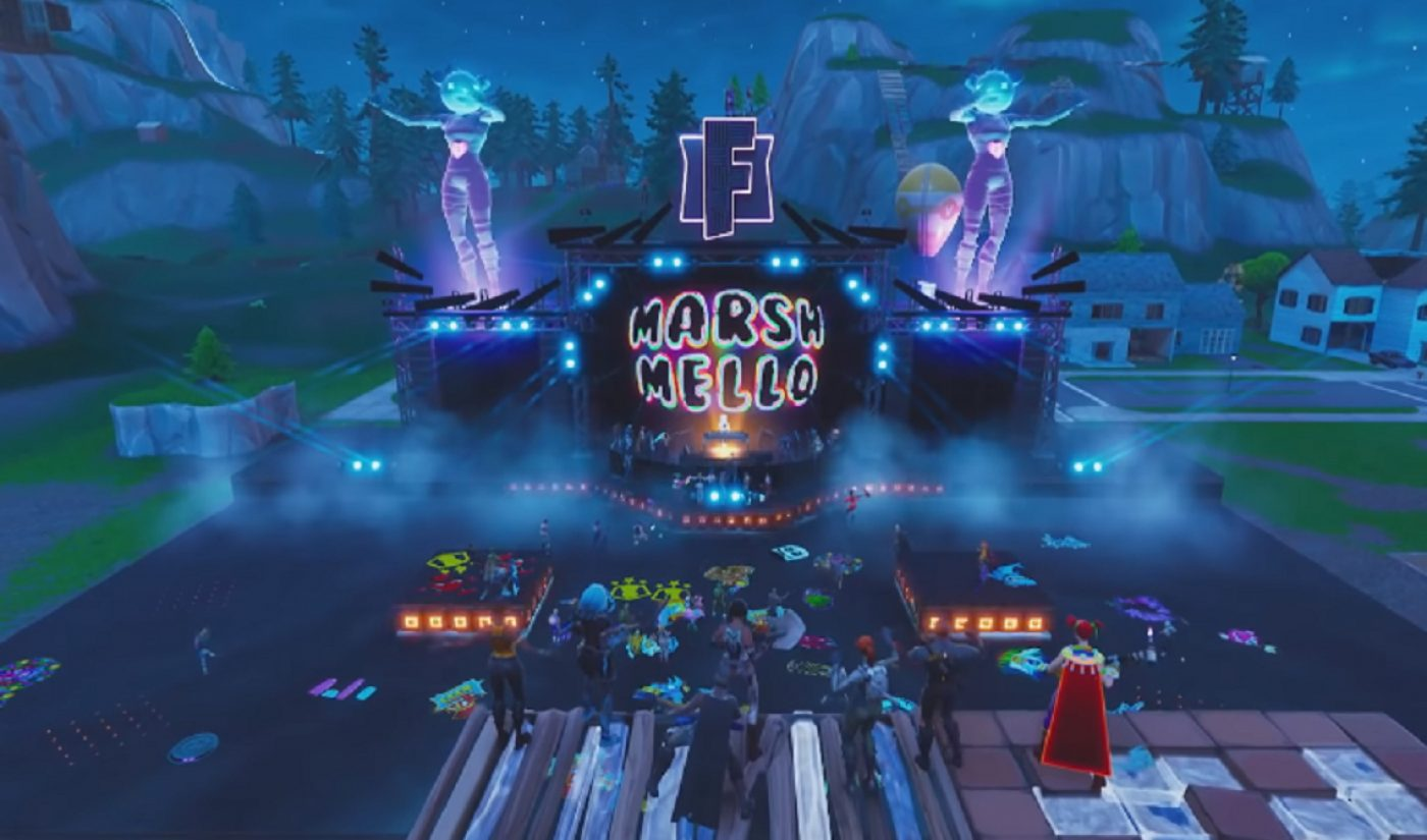 More Than 10 Million People Attended Marshmello's Live Virtual Concert In 'Fortnite,' DJ Says