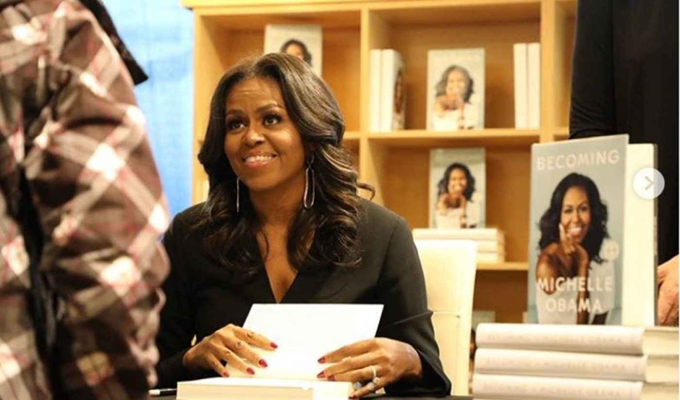 Michelle Obama To Take Questions From John Green, Jouelzy, More In 'BookTube' YouTube Special