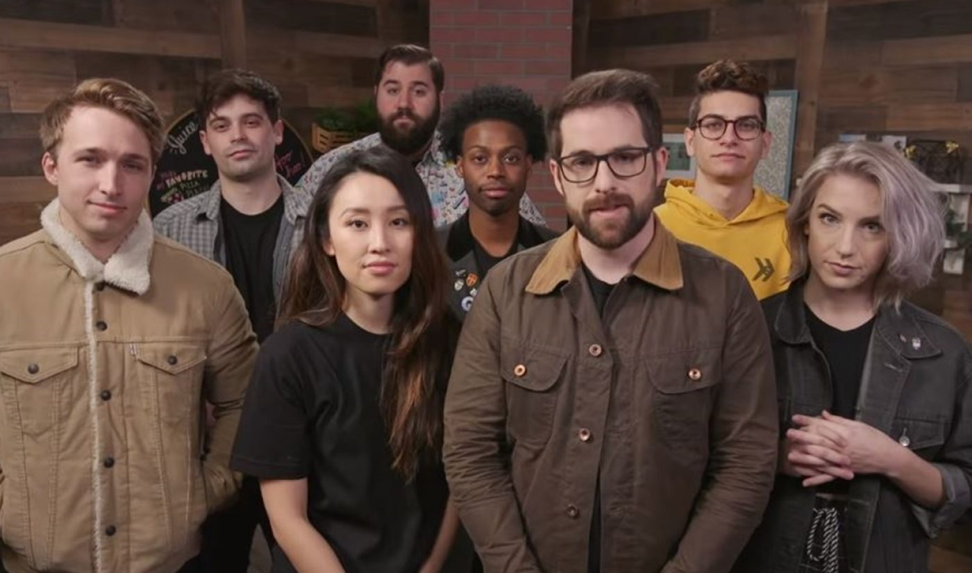 It's Official: Smosh Has Been Acquired By Rhett & Link's Mythical Entertainment
