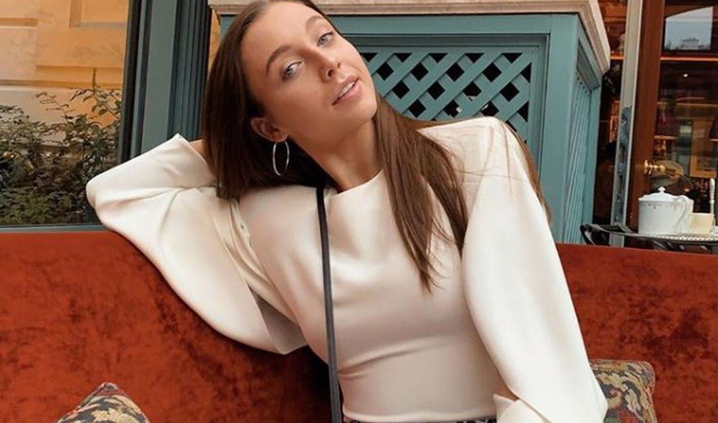 YouTube, Louis Vuitton Host Emma Chamberlain At Paris Fashion Week