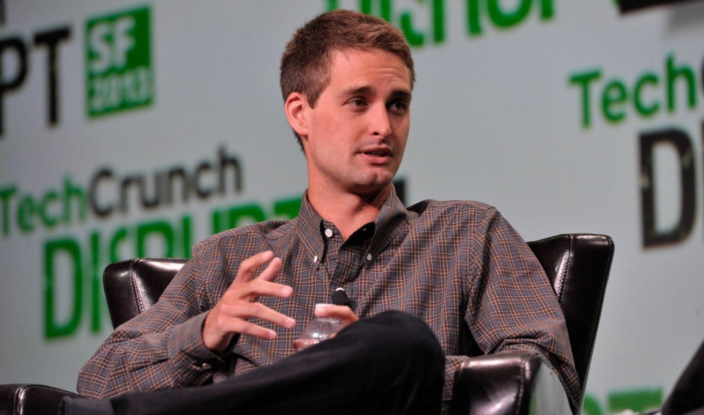 Jeffrey Katzenberg's Quibi To Produce 'Frat Boy Genius,' A Withering Look At Evan Spiegel