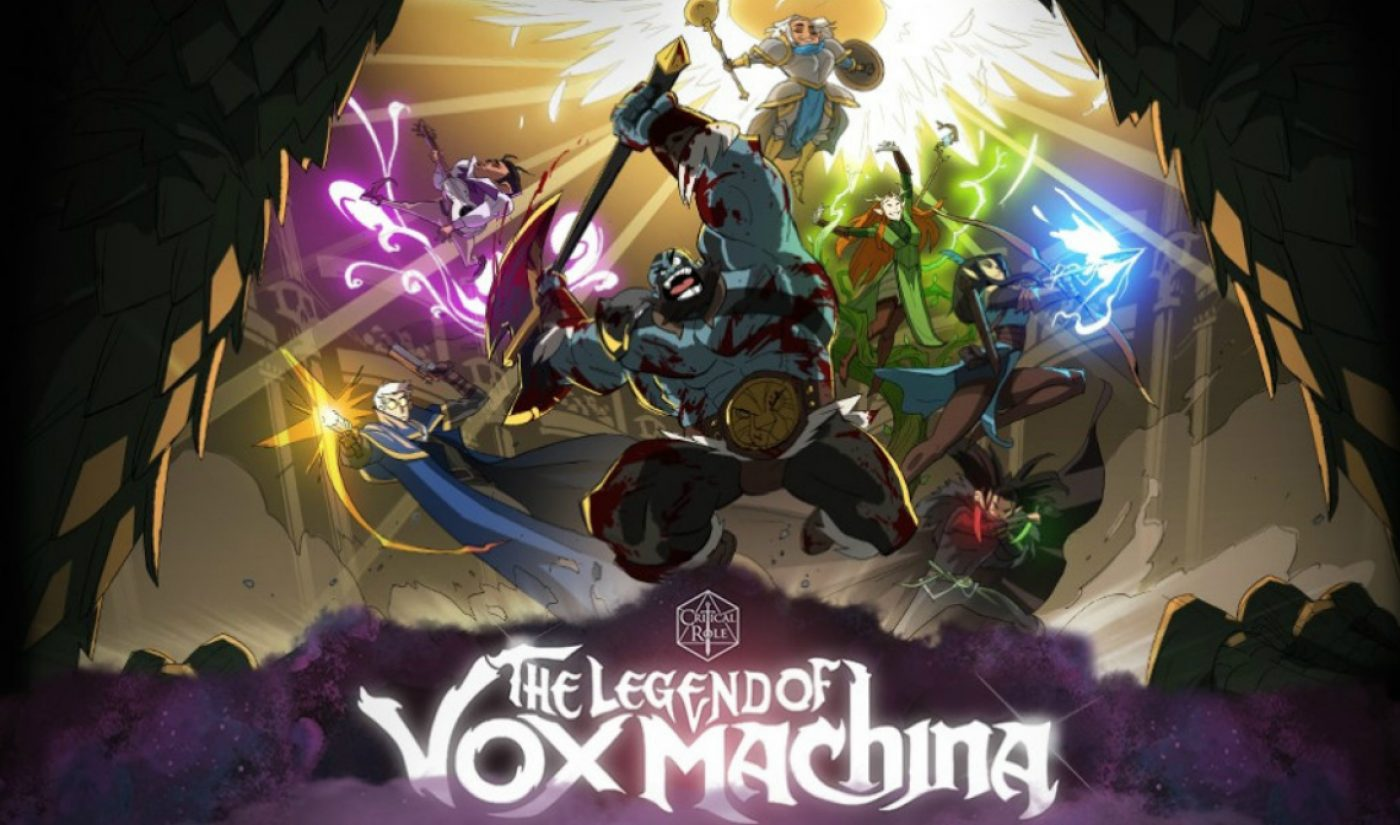 In Less Than A Day, 'Critical Role' Fans Pledge $3.3+ Million To Bring Animated 'Vox Machina' Special To Life