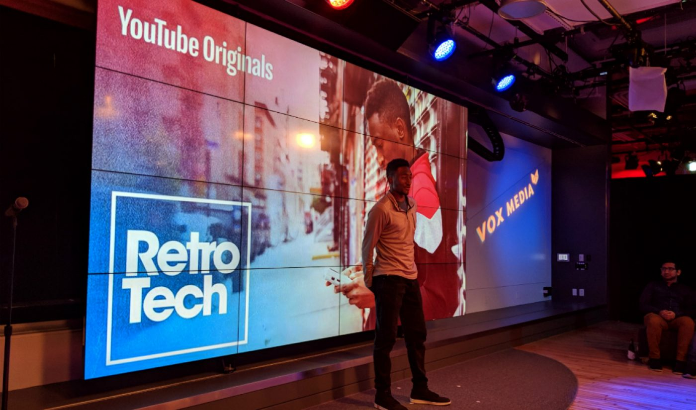 YouTube Picks Up Original Series 'Retro Tech' From Star Creator Marques Brownlee, Vox Media Studios (Exclusive)