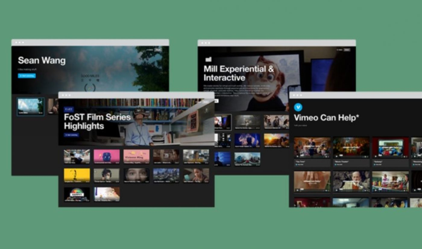 Vimeo Bows 'Showcase' Toolkit To Help Creators Make Custom Websites, Smart TV Channels