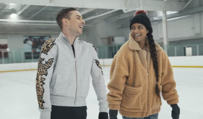 Adam Rippon Teaches Lilly Singh The Ways Of Butt-Wiggling In YouTube Series 'Break The Ice'