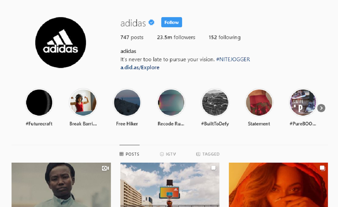 Instagram's In-App Shopping Feature 'Checkout' Helped Boost Adidas ...