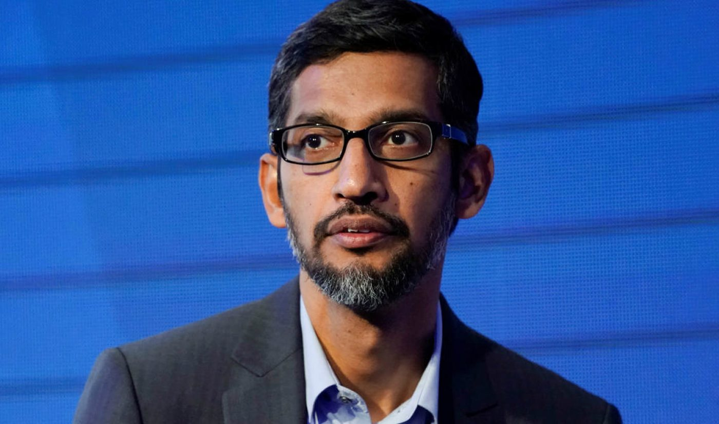 YouTube Considering Moving All Children's Content To 'Kids' App As Sundar Pichai Becomes More Involved In Day-To-Day Decision-Making (Report)