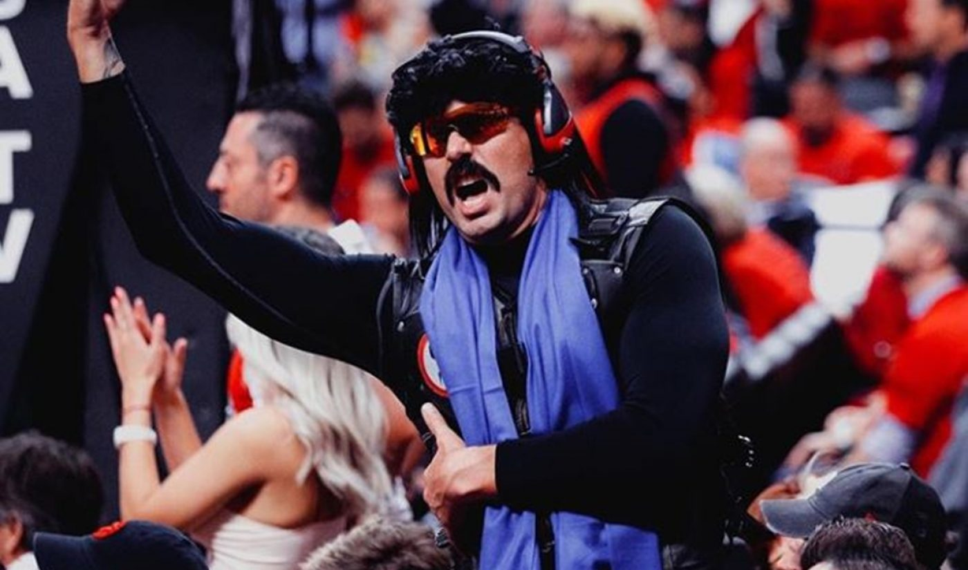 Dr DisRespect Apologizes For Public Bathroom Stream, Teases Twitch Return Next Week