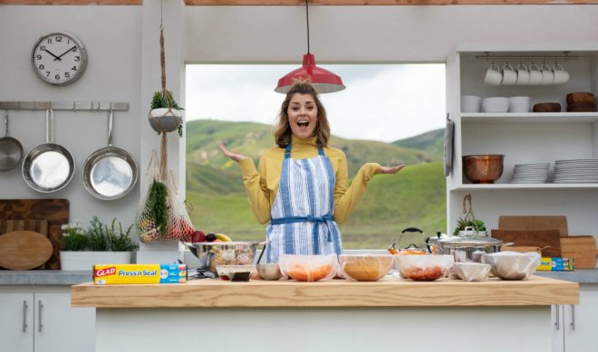 Glad Challenges YouTube Vet Grace Helbig To Create An Instagram-Worthy Dish While Offroading