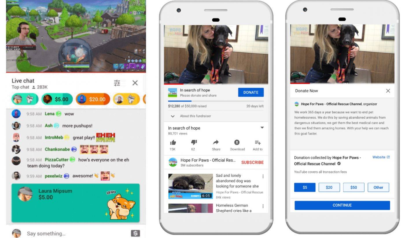 At VidCon, YouTube Announces Addition Of Channel Membership Levels, 'Super Stickers,' More Merch Shelf Vendors