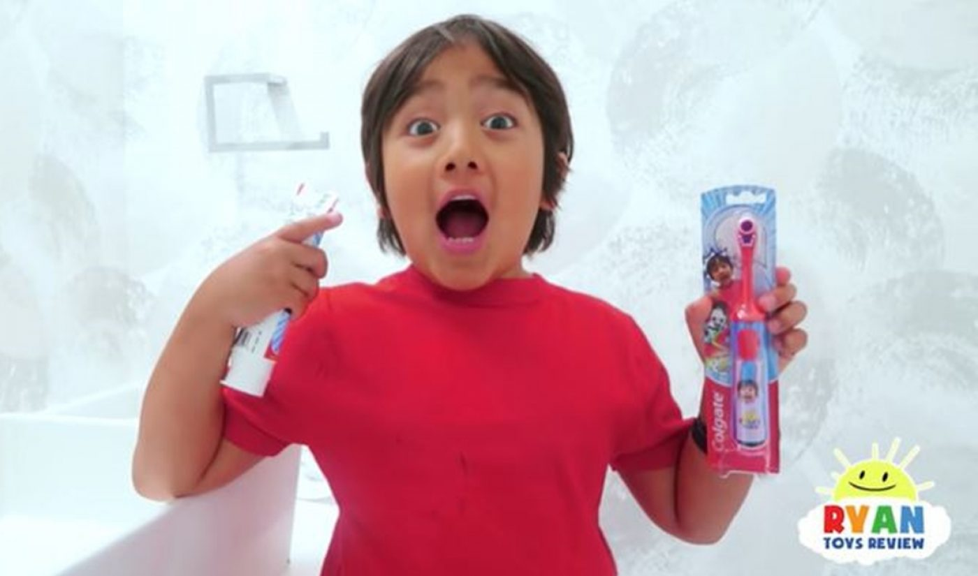 Ryan Toys Review Scrubs Up With Colgate For Children's Oral Care Collection