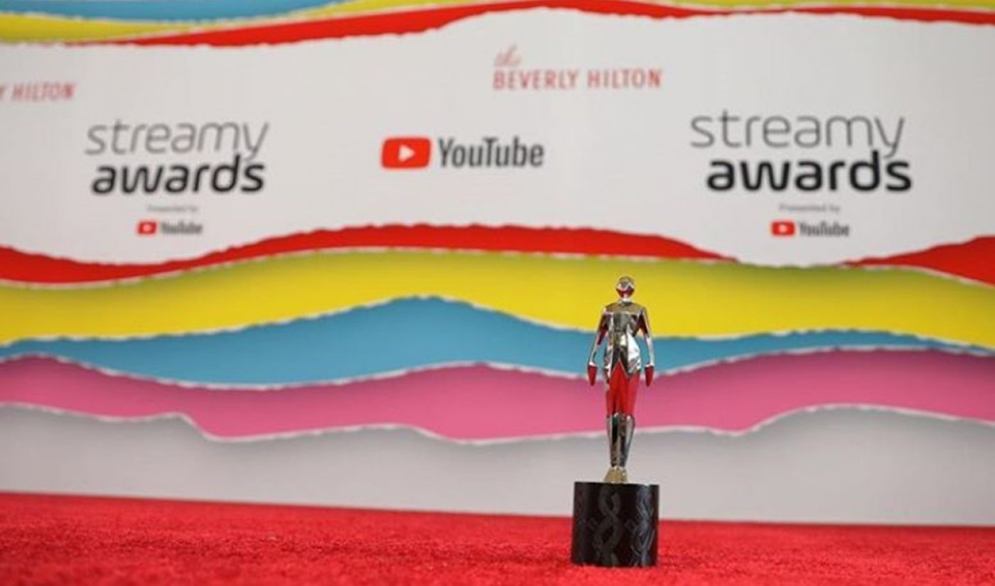 Submissions Are Now Open For The 9th Annual Streamy Awards