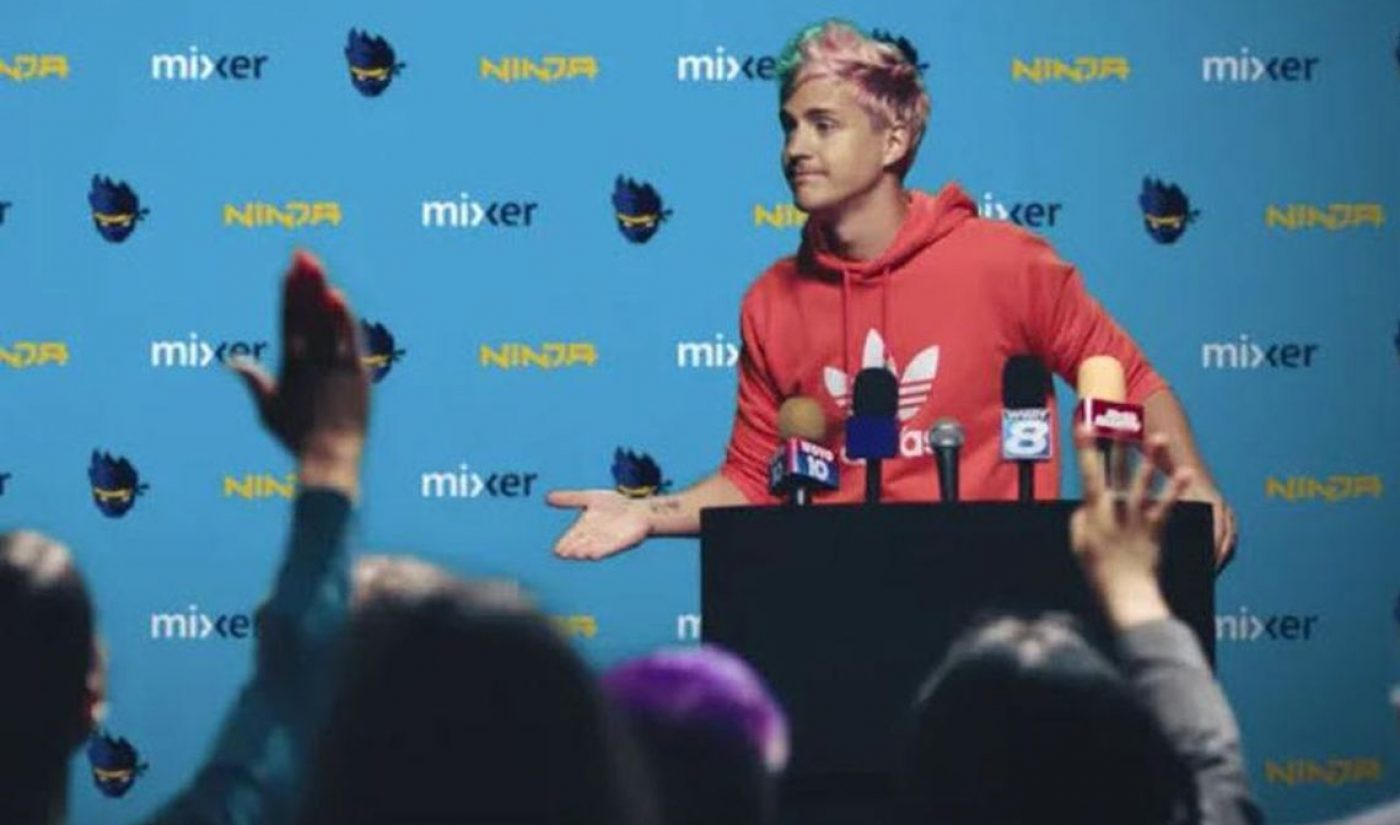 Ninja's New Cross-Platform Video Strategy Since Leaving Twitch For Mixer