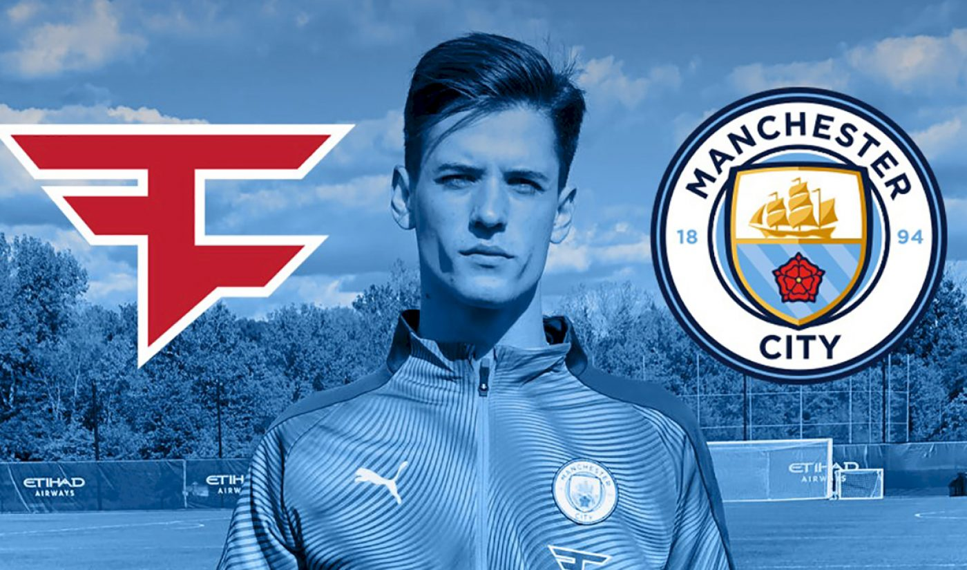 FaZe Clan Scores Content Creation, Merch Partnership With Soccer Club Manchester City