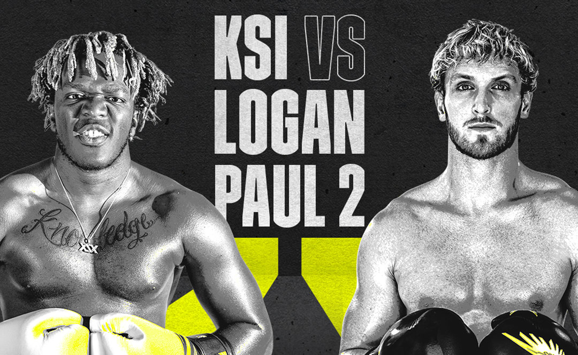 Logan Paul, KSI Set Nov. 9 As Date For Boxing Rematch, Livestreaming Exclusively On DAZN