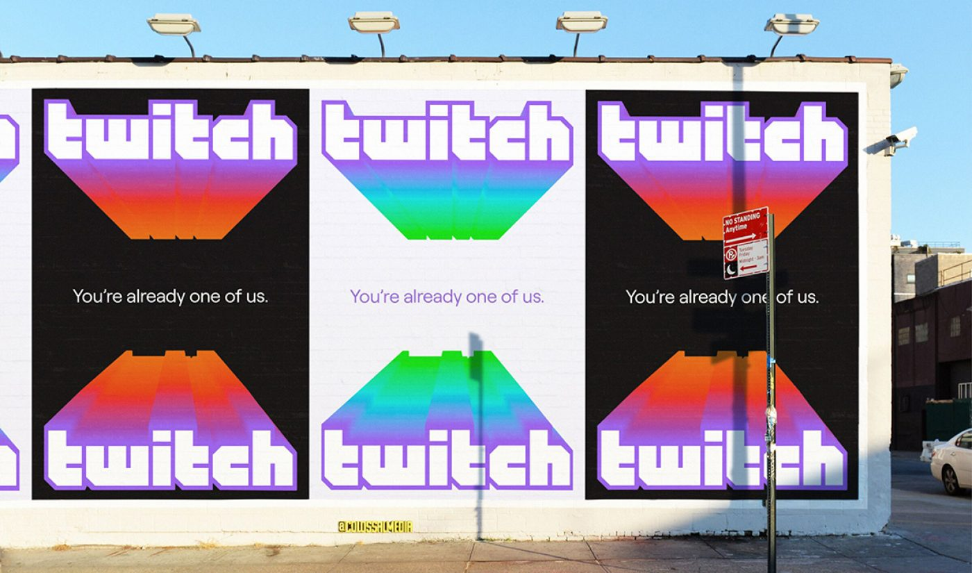 "Twitch Rebrands With New Logo, New Slogan: ""You're Already One Of Us"""