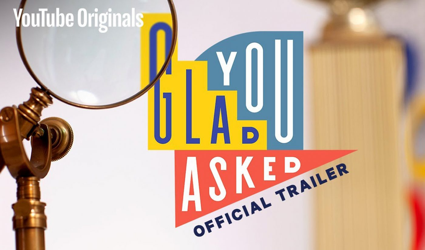 Journalists Seek Answers To YouTube Users' Burning Questions In Upcoming Vox Original 'Glad You Asked'