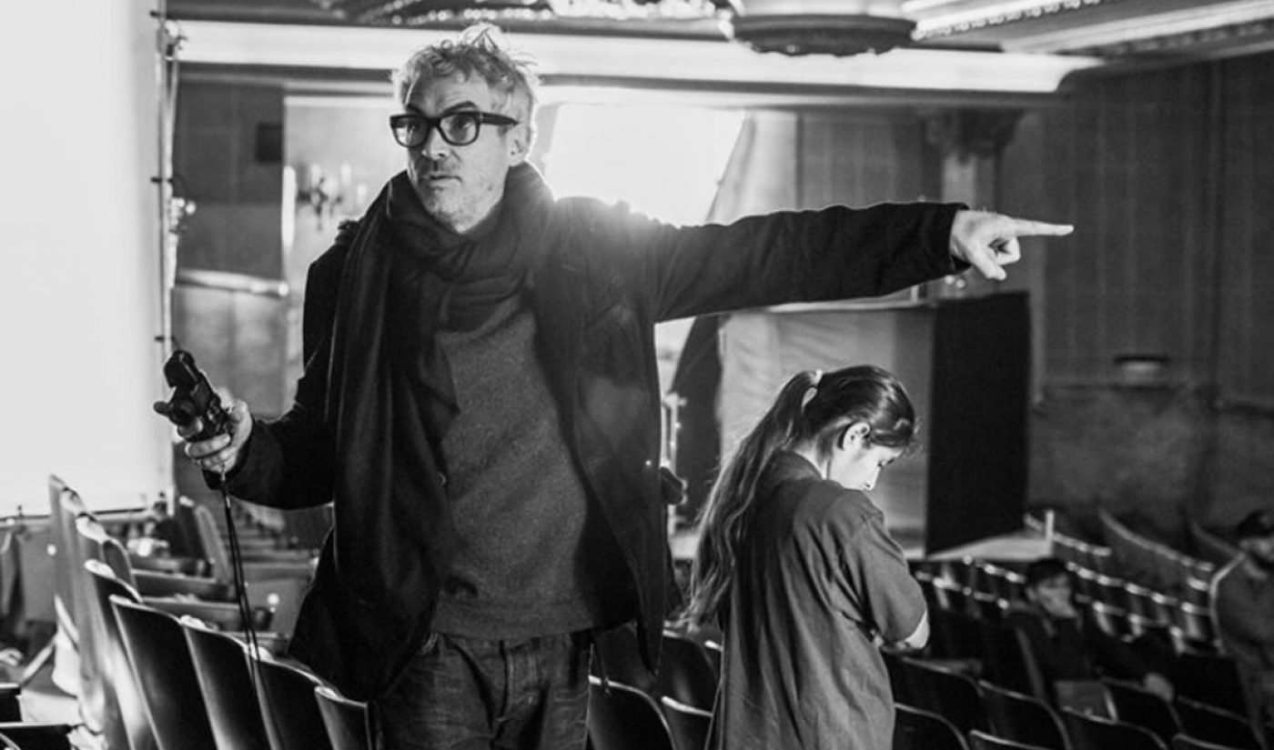 Apple Signs Overall TV Deal With Oscar-Winning Auteur Alfonso Cuarón