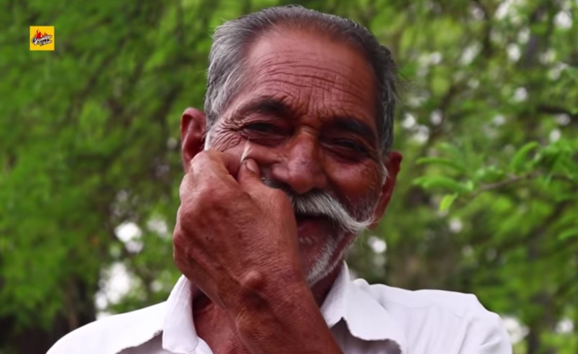 73-Year-Old Indian Chef