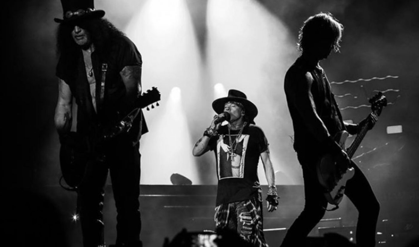 Guns N' Roses Lays Claim To Only Music Videos From The '90s — And Now The '80s — With 1 Billion Views