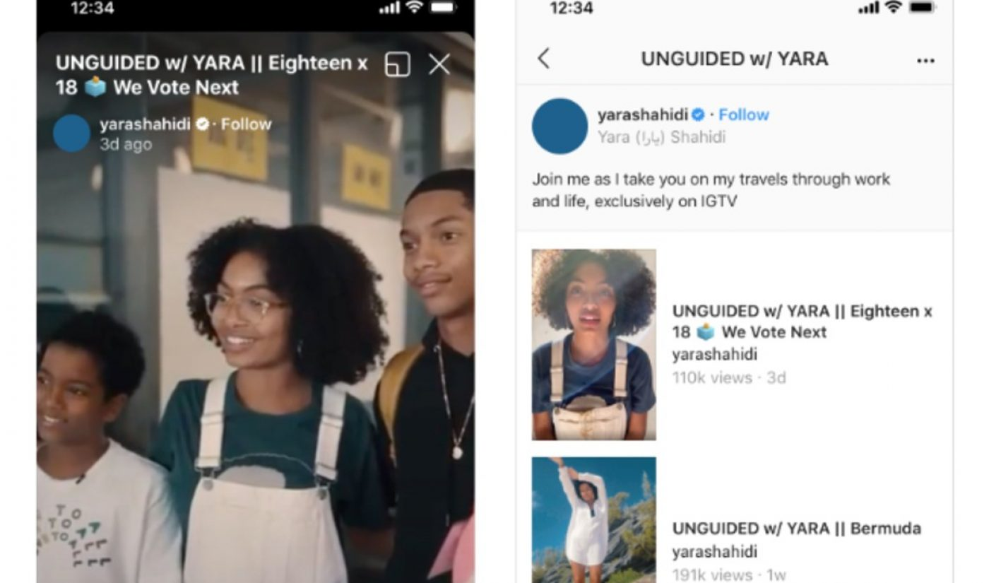 IGTV Rolls Out Tools Enabling Creators To Publish Videos As An Episodic Series