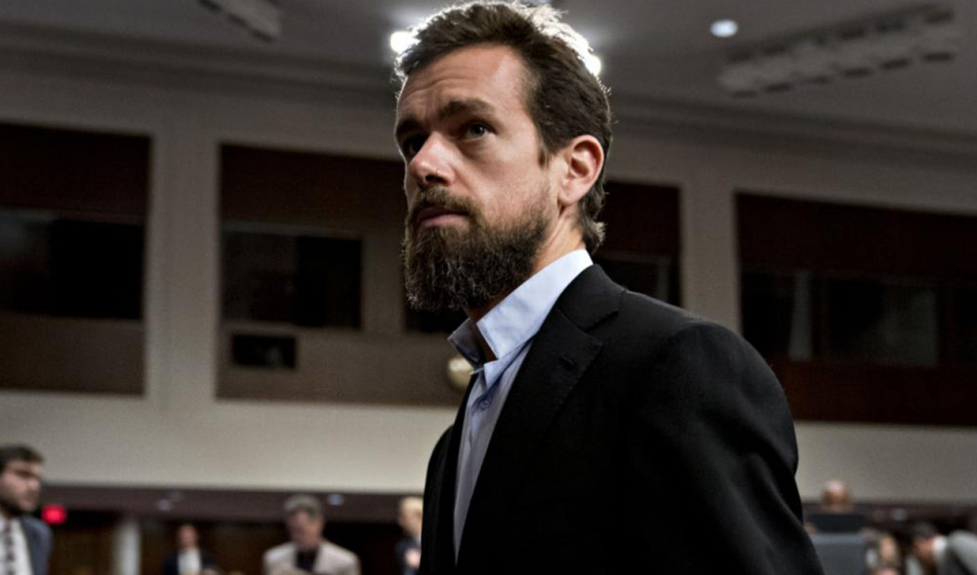 Twitter CEO Jack Dorsey Announces New Ban On Political Ads, Takes Shot At Facebook