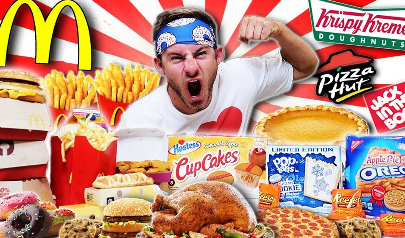 YouTube Millionaires: Erik The Electric Undertakes The Internet's Most Intense Eating Challenges