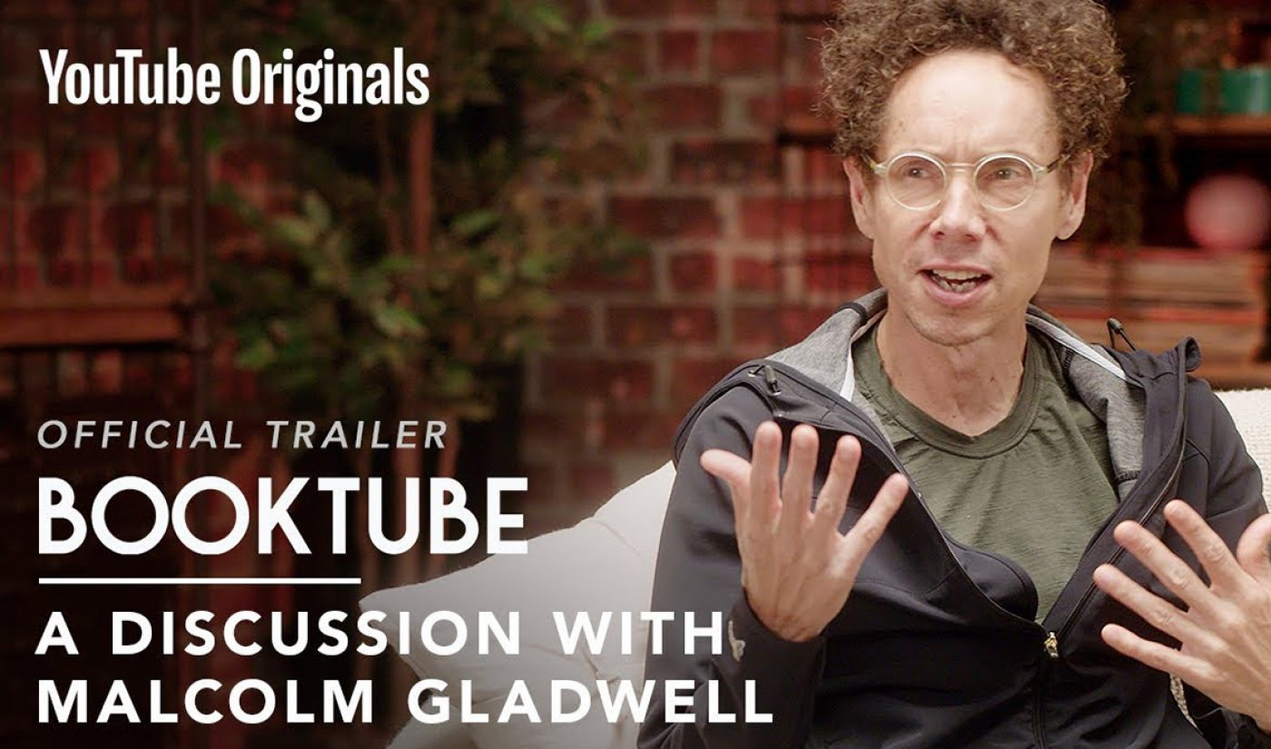 YouTube Drops Trailer For Original Series 'BookTube,' Featuring All-Star Authors Chatting With Creators