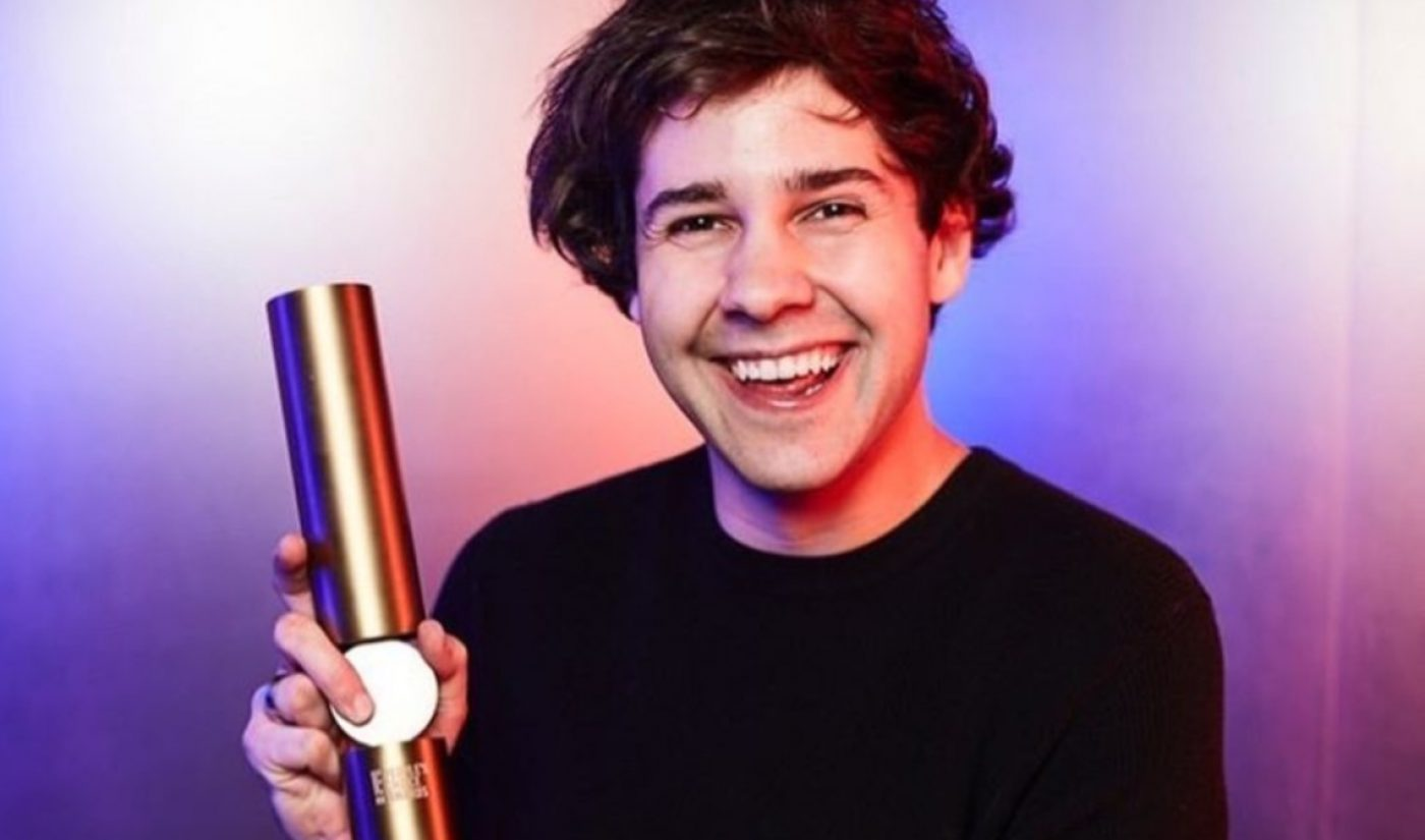 David Dobrik Says Monthly YouTube Ad Earnings Went From $275,000 To $2,000 In Two Years