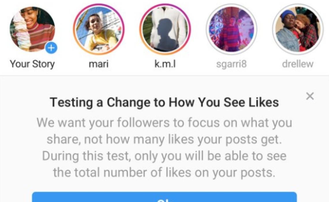 Following Positive Feedback, Instagram Expands Test Of Hidden