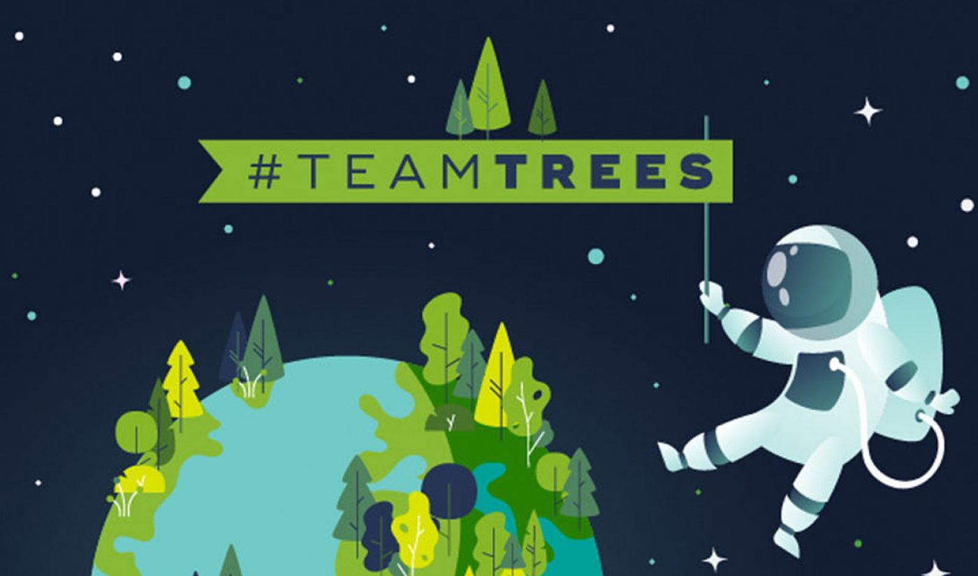 MrBeast And Mark Rober's #TeamTrees Fundraiser Is Getting A Discovery Channel Special