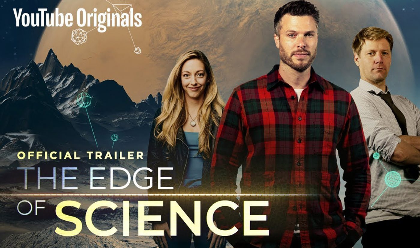 YouTubers Attempt Levitation In BBC Original 'The Edge Of Science'