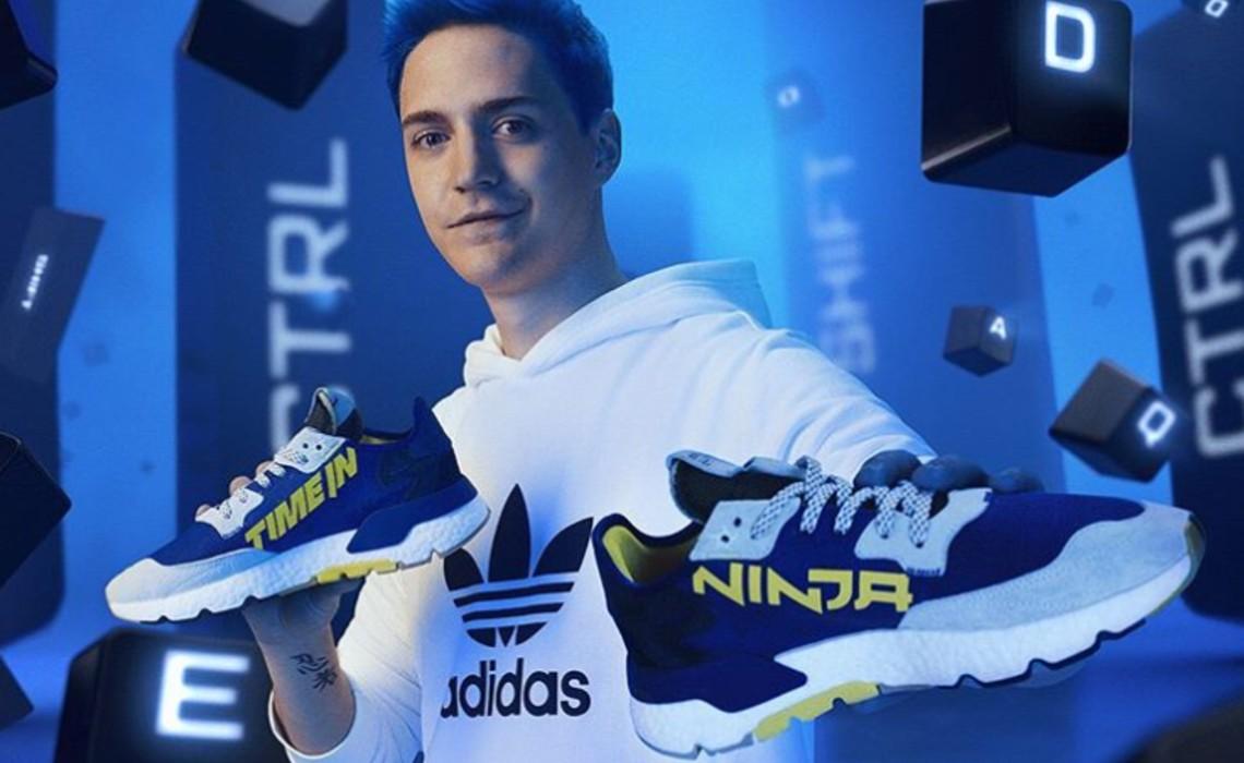 After Inking Multiyear Endorsement Deal, Ninja Unveils First Adidas Sneakers - Tubefilter