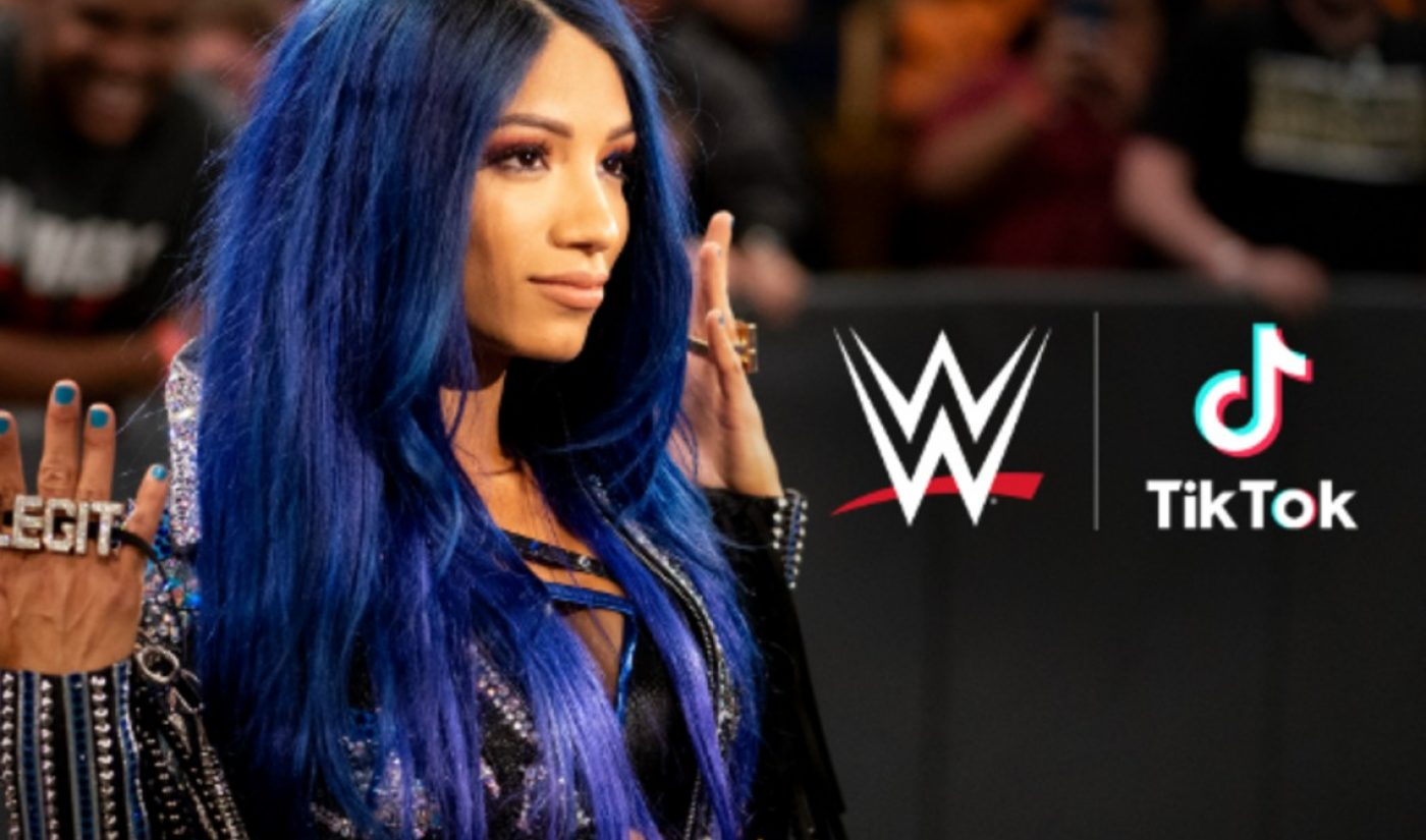 TikTok Inks Deal With WWE For 30 New Wrestler Accounts, Entrance Music Licensing