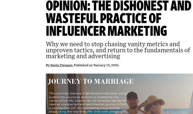 """""""Under The Influence""""?: A Response To THAT Ad Age Article"""