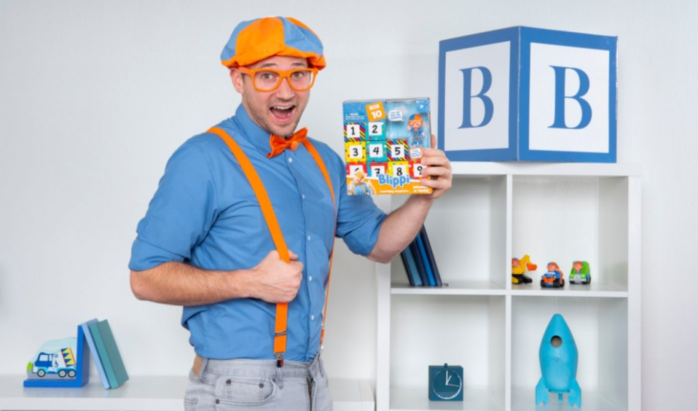 Children's YouTube Phenom Stevin 'Blippi' John Launches Educational Toy Brand