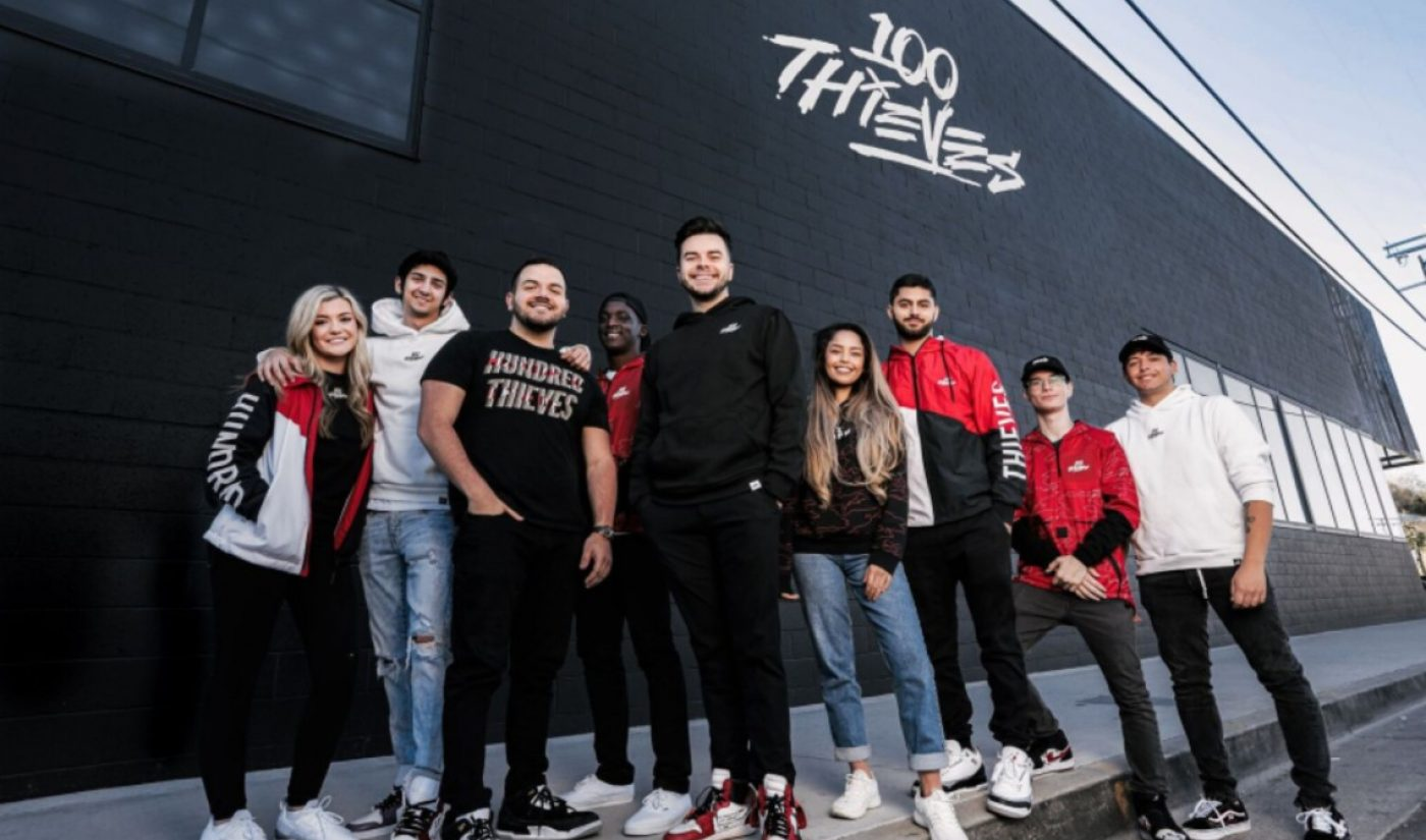Gaming Org '100 Thieves' Opens Massive Compound For Player Training, Streaming, Retail, More