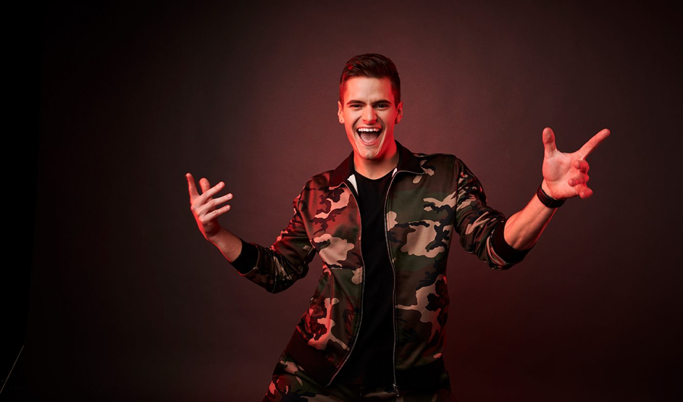 """Creators Going Pro: Caleb Marshall Makes His Living As YouTube's Premier """"Fitness Pop Star""""—But Not By Raking In Ad Revenue"""