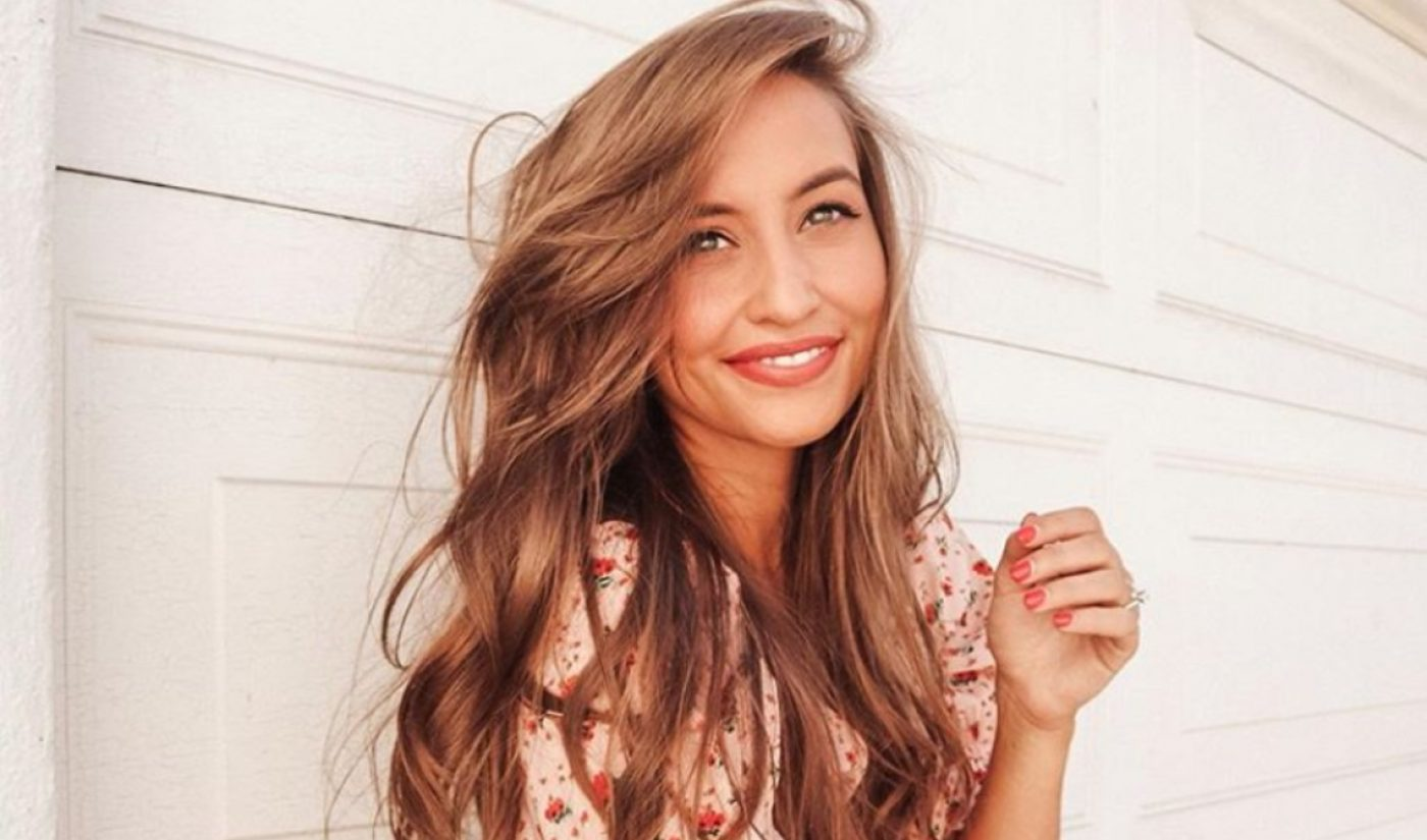 CAA Signs Lifestyle Vlogger And Entrepreneur Kristin Johns