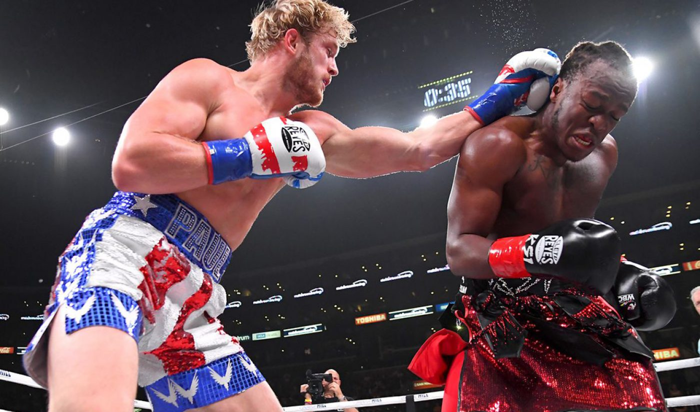 Streamer DAZN Saw A 98% Jump In Viewership Last Year, With Logan Paul vs. KSI 2 Among Its Top Offerings