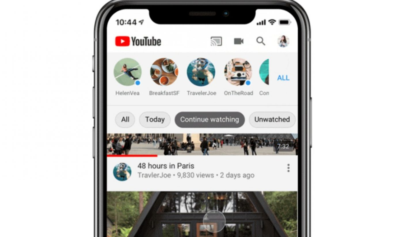 YouTube App Introduces New Subscription Feed Filters For 'Unwatched', 'Live' Videos, More