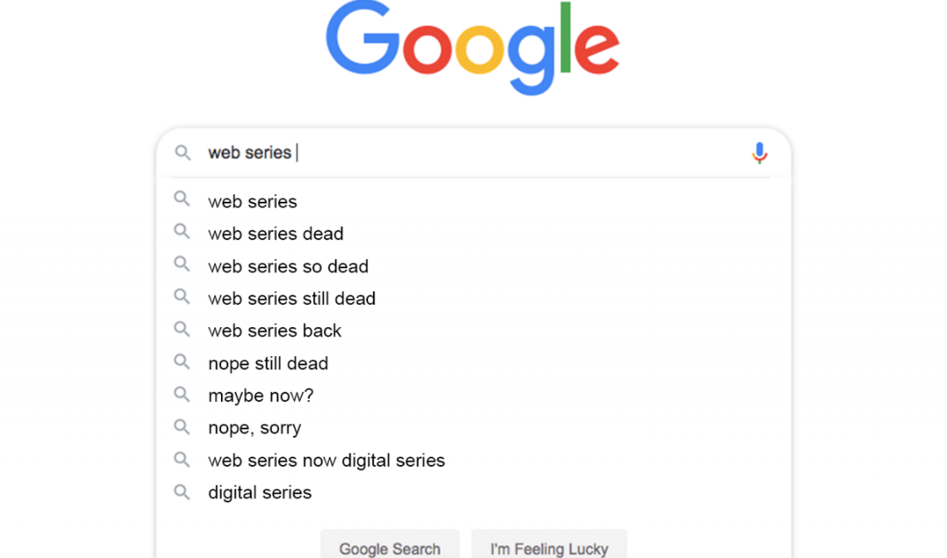 Diary Of A Web Series: Death Of The Web Series (And What Killed It)