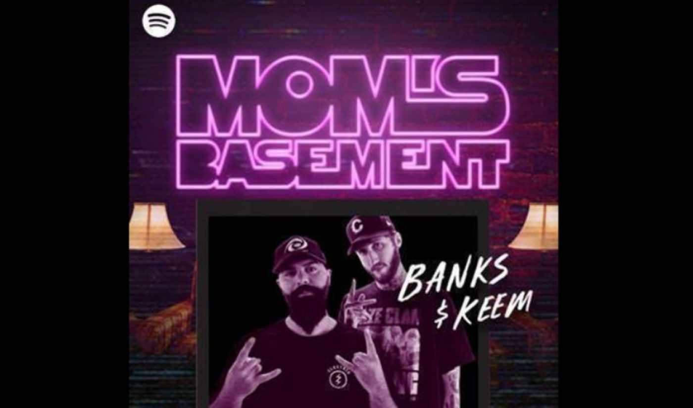 Spotify Resurrects FaZe Banks And KeemStar's 'Mom's Basement' YouTube Series In Podcast Form